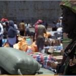 Soldier in Somalia.