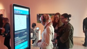 A beta version of #Hacked is exhibited on giant touchscreens at Sheffield International Film Festival where it was selected for competition.